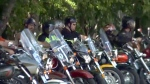 Bikers gather to help bully victim