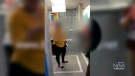 Agitated woman demands white doctor at clinic