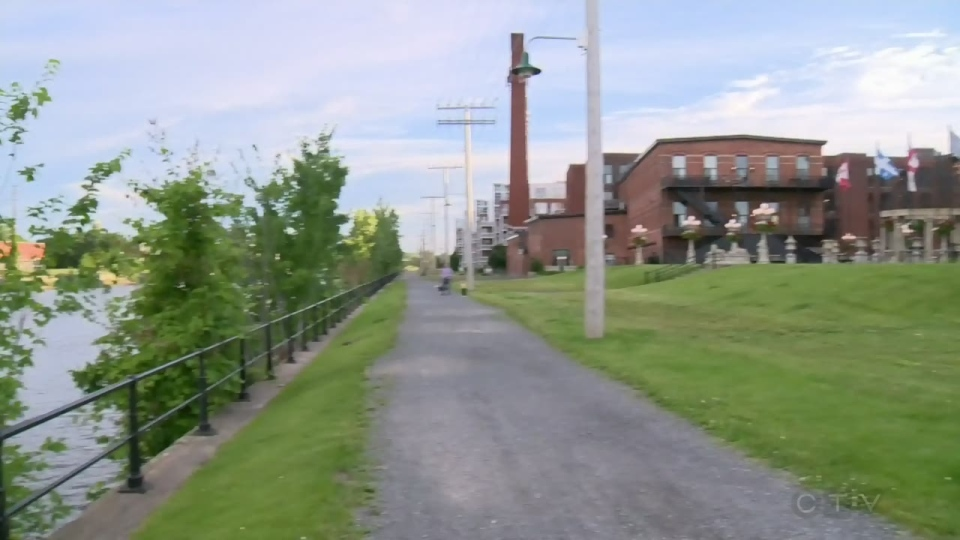 The Lachine Canal was built in 1825 to bypass the Lachine Rapids. It was designated a national historic site in 1929.