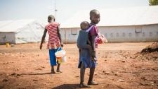 Uganda displaced refugees