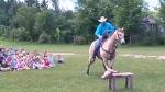 Yee-haw! Cowboy moseys into Guelph school