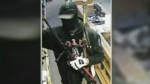 Man breaks into store and steals 5 guns