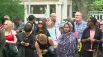 Hundreds mark Wold Refugee Day in Saskatoon