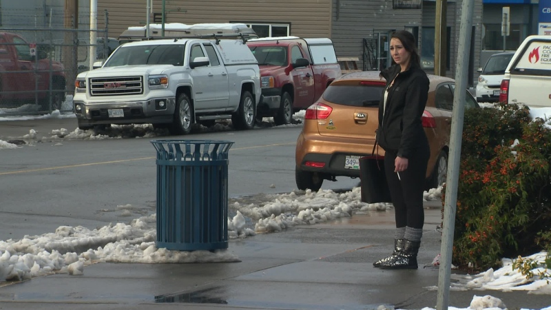 The stroll, an industrial area on the outskirts of downtown Victoria where roughly 200 of the city's 2,000 sex workers ply their trade, is seen in this 2016 file photo. (CTV Vancouver Island)