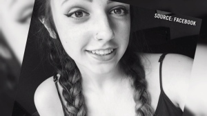 18-year-old Michaela Martel was one of two young women killed in a single vehicle crash in west Ottawa. Source: Facebook