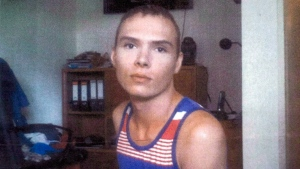Luka Rocco Magnotta is pictured in Berlin in an undated court handout photo. (THE CANADIAN PRESS)