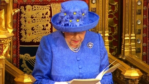 LIVE1: Queen Elizabeth II delivers throne speech