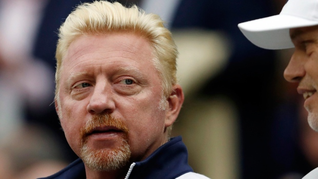Three-time Wimbledon winner Boris Becker declared bankrupt