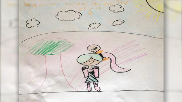 Sienna Wortman, Grade 2, St Emily's school, Barrhaven