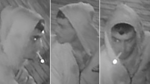 Police are looking for a suspect in a break-and-enter at a Kanata fast food restaurant. He is described as a white man, about 5-foot-6, 140 pounds and clean shaven.