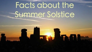 A quick look at a few fun facts on this first day of summer!