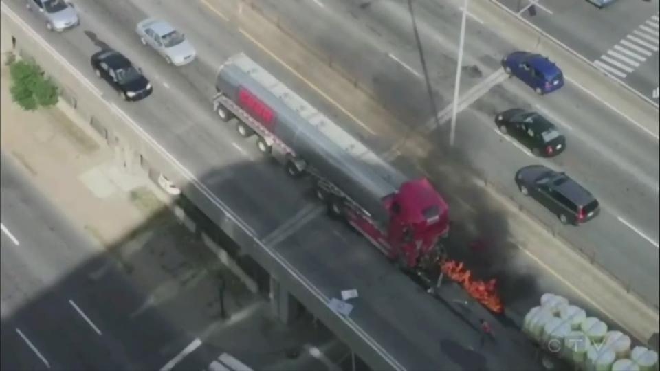 metropolitan, deadly, truck, fire