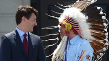 PM Trudeau with Bellegarde