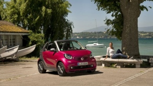 The 2017 Smart ForTwo cabrio electric drive (Daimler AG)