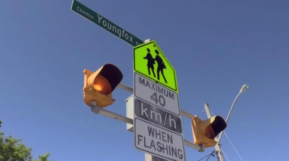 Colonization Road has been named 'Youngfox Road'.