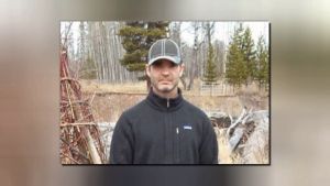 RCMP say 45-year-old Sean David Kuntz has gone missing as he was cycling form Smithers to Saanich to visit his mother. (RCMP Handout)