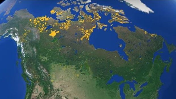Google Canada has unveiled a new project that lets users look up 3,000 indigenous reserves and settlements on Google Maps. (Google Earth)