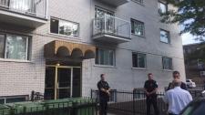 Terror suspect home