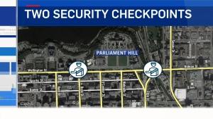 CTV Ottawa: Security on Canada Day