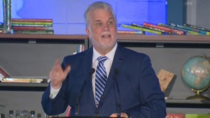 Quebec Premier Philippe Couillard announced a $1.3 billion education success plan aimed at growing students' marketable skills.