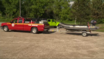 Two teens swept over the dam in Elora.