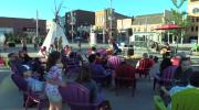 National Aboriginal Day celebration in Uptown Waterloo.