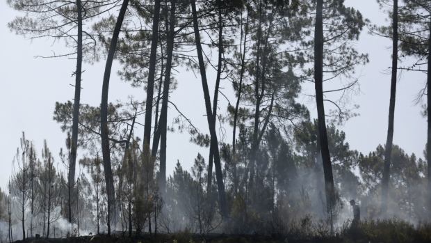 Firefighters put out second wildfire in Portugal