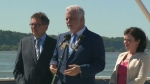 Premier Philippe Couillard said the Muslim community had a responsibility to explain that violence is not part of their religion (June 22, 2017)