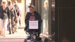 Legal clinic challenges panhandling law