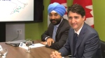 Trudeau meets with GM execs in Markham
