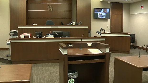 Calgary court interior