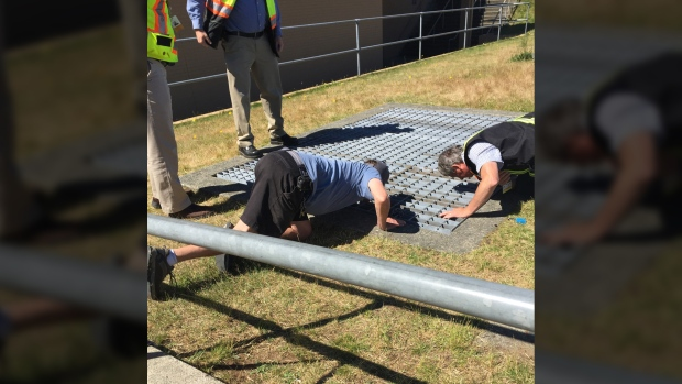 Boy who fell through grate at nanaimo school 39 lucky to be for Fish table sweepstakes near me