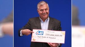 Paul Hindo of Manotick wins $22 million in Lotto 6/49 (OLG)
