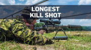 Canadian sniper makes world's longest kill shot