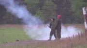 Destoying explosives at CFB Borden
