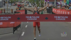 Oak Bluff triathlete Mislawhuck wins national titl