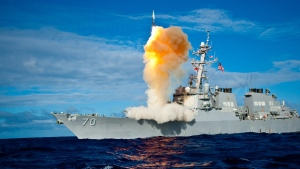 In this file image previously provided by the U.S. Navy, a Standard Missile - 3 (SM-3) is launched from the USS Hopper on Thursday July 30, 2009 (AP Photo / US Navy)