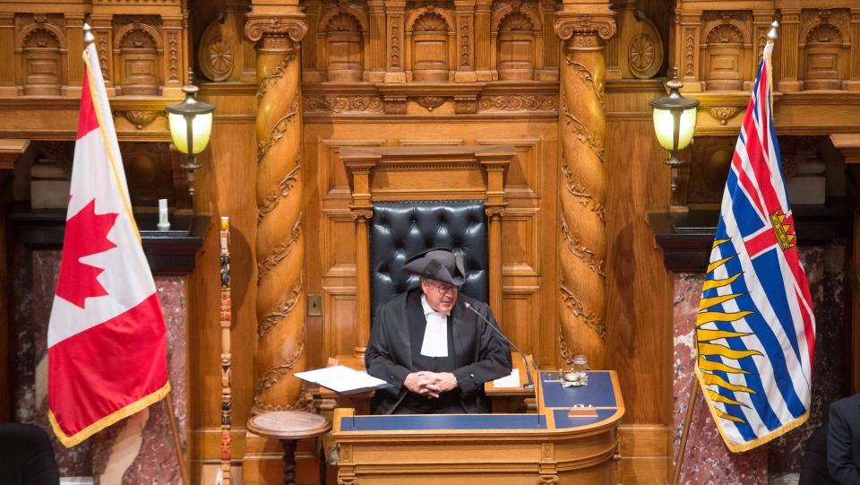 B.C. throne speech