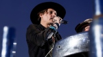 Actor Johnny Depp introduces a film at the Glastonbury music festival at Worthy Farm, in Somerset, England, Thursday, June 22, 2017. (Photo by Grant Pollard / Invision / AP)