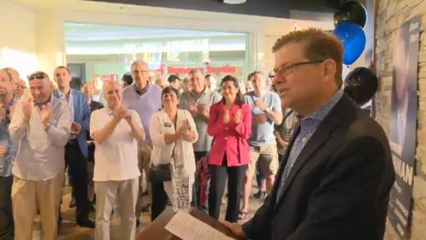 Robert Libman is running for mayor of Cote Saint-Luc.