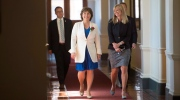 British Columbia Premier Christy Clark arrives prior to the Speech from Throne in Victoria, Thursday, June 22, 2017. THE CANADIAN PRESS/Jonathan Hayward