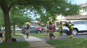Kitchen fire on Barwick Crescent in Waterloo.