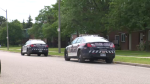 WRPS arrest a man following an incident in Kitchener.