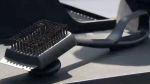 The brush's wire bristles can loosen over time and stick on to a barbecue during cleaning.