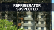 Refrigerator may have sparked Grenfell Tower fire