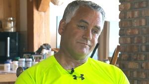 Lyme disease patient Donald Blenus speaks to CTV News in Canning, N.S., Thursday, June 22, 2017.