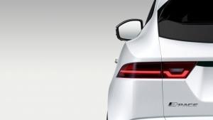 A teaser image for the Jaguar E-Pace (Jaguar Land Rover)