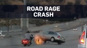 Caught on camera: Dramatic road rage in California