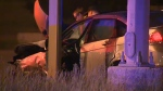 Police deal with pair of overnight crashes