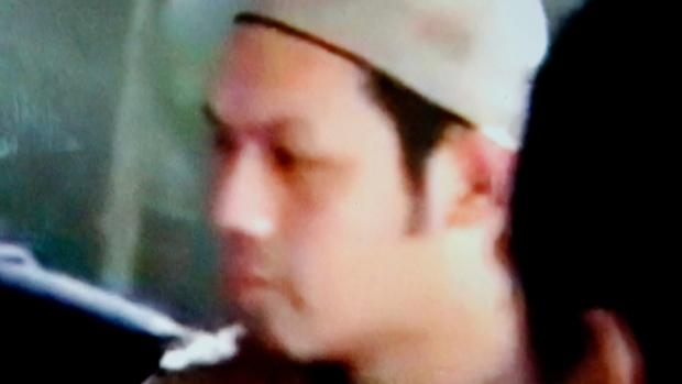 Malaysian militant Mahmud bin Ahmad in an undated image from video. (Philippine military via AP)